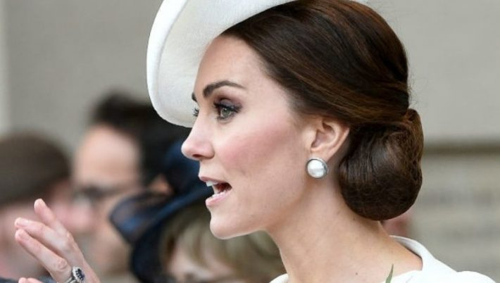 Kate Middleton abito a pois