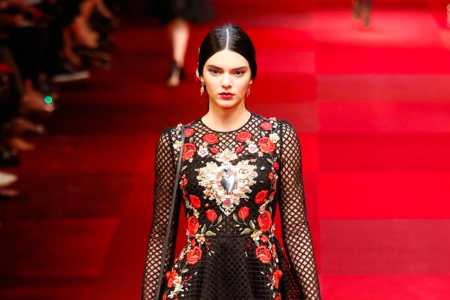 Modelle più pagate 2018 Kendall Jenner